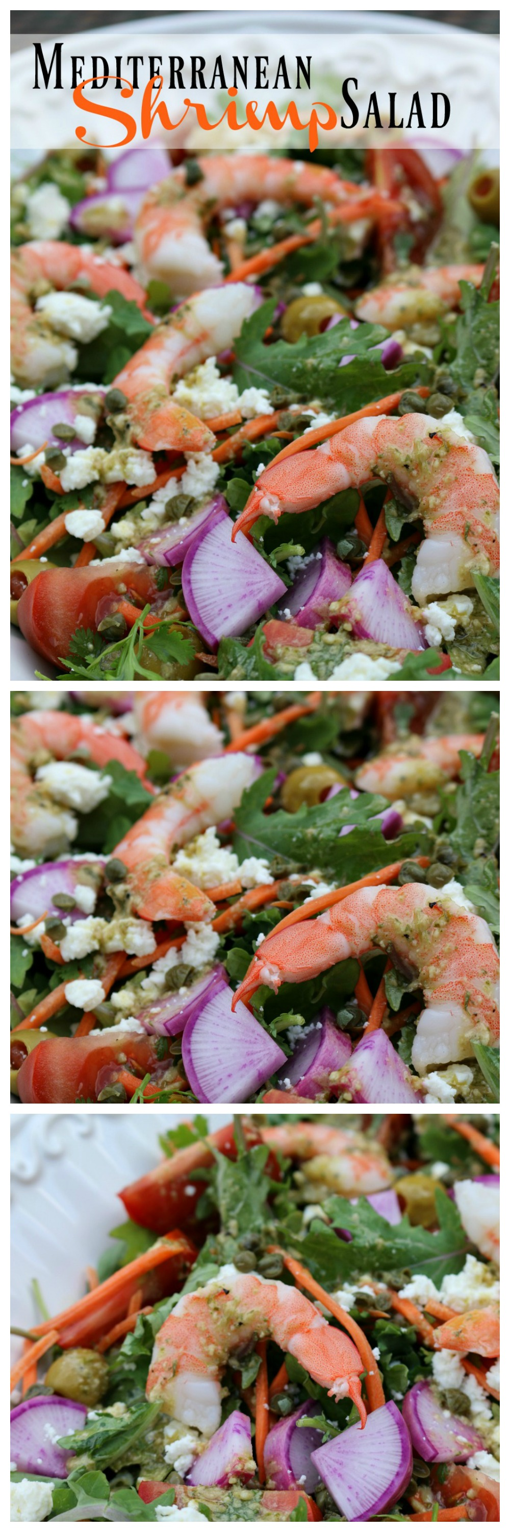 Mediterranean Shrimp Salad CeceliasGoodStuff.com Good Food for Good People