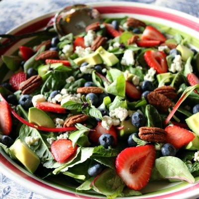 Berry Basil Harvest Salad