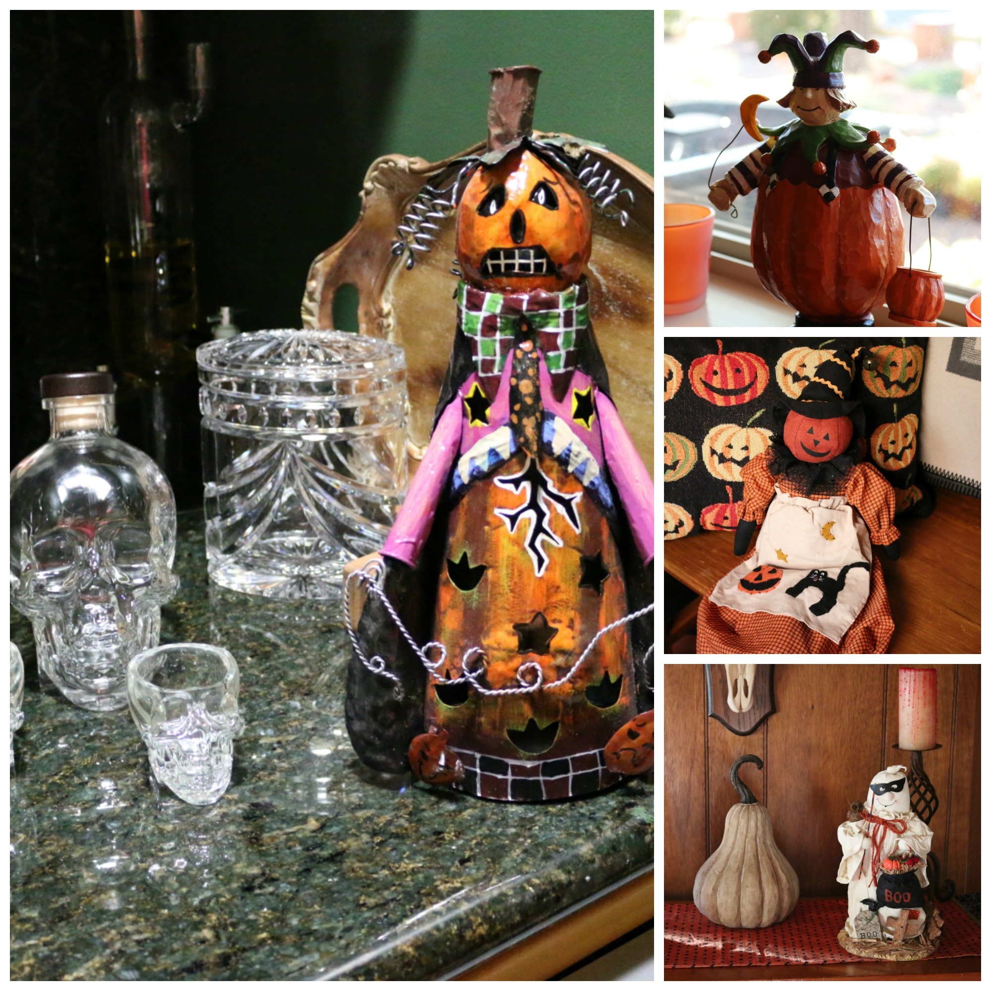 Casa Linda - My home in New Mexico - Halloween Decorations