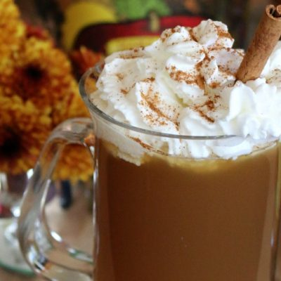 Spiced Apple Pie Drink