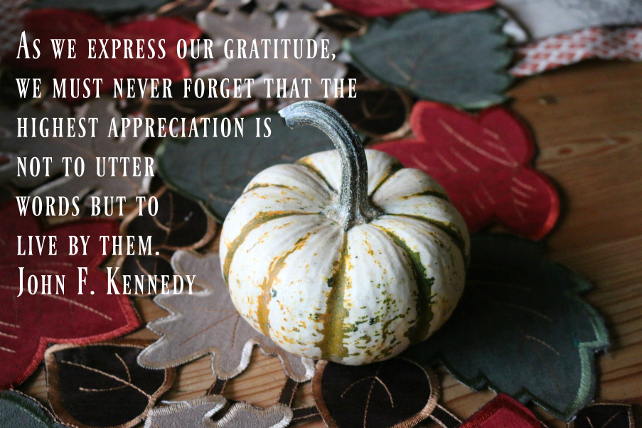 As we celebrate this Thanksgiving holiday please take a moment to reflect on all that you have to be thankful for. God Bless us everyone.