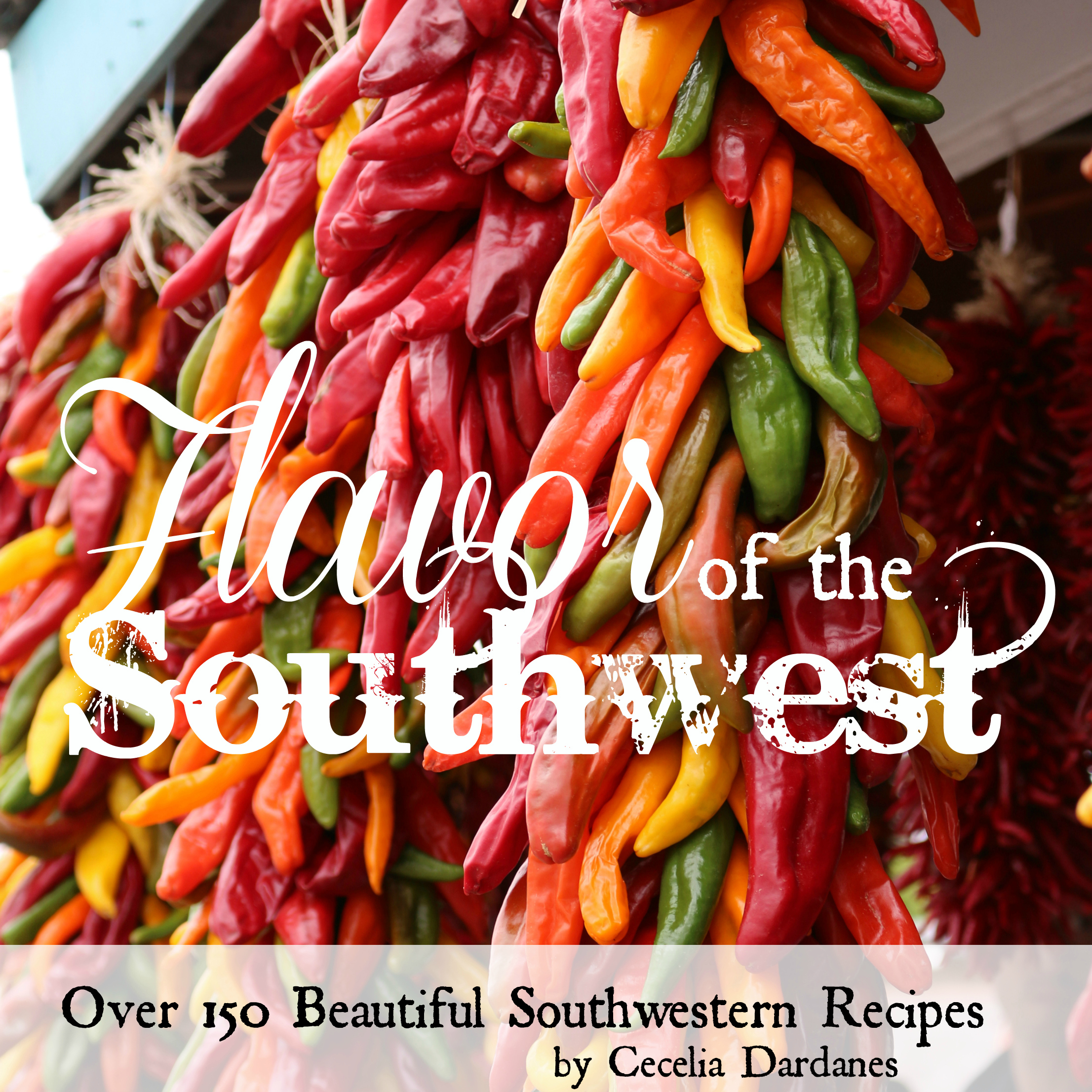 Flavor of the Southwest - 320 pages of beautiful southwestern recipes. Each recipe has a picture.