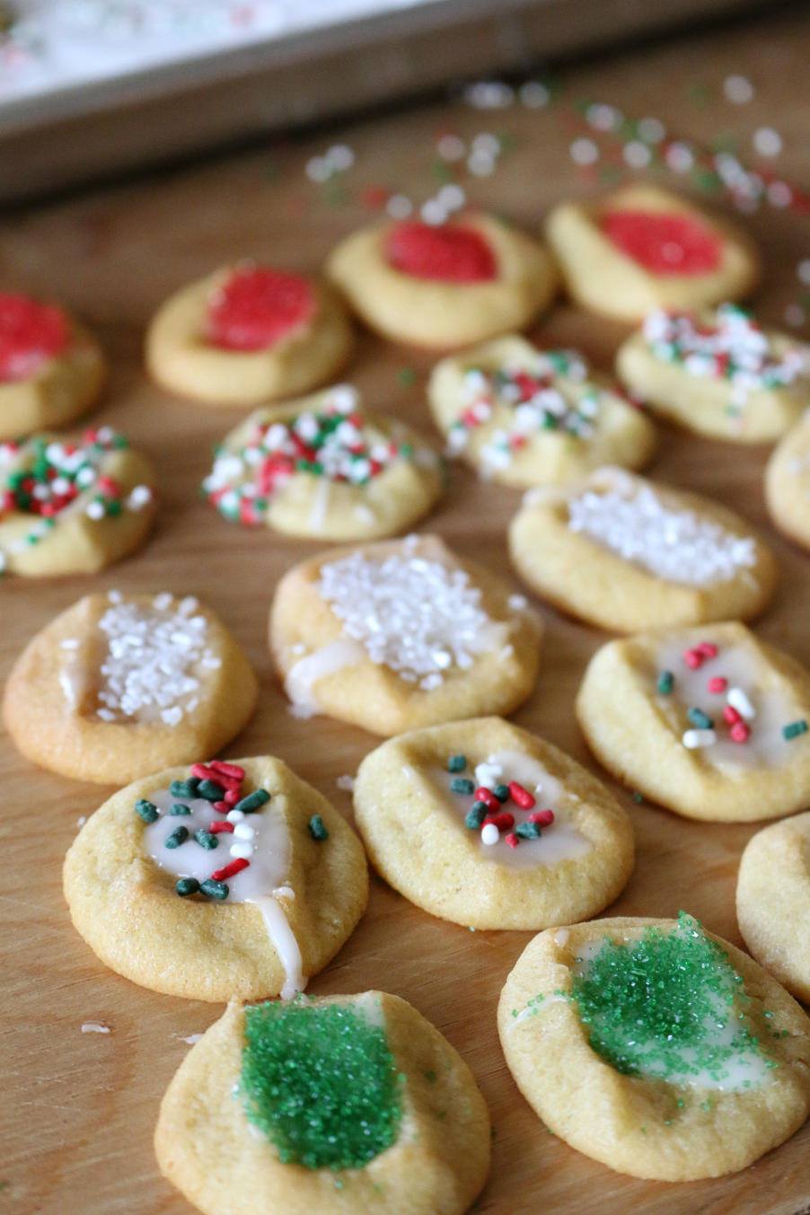 Seriously, when you have a cookie emergency - this recipe fits the bill! The almond glaze makes these taste homemade.