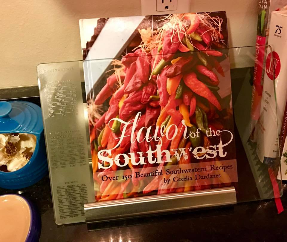 "GOOD STUFF people are saying about my new cookbook ""FLAVOR OF THE SOUTHWEST"" - Ashlin from Washington, D.C. - I can't wait to cook something out of this beauty!"