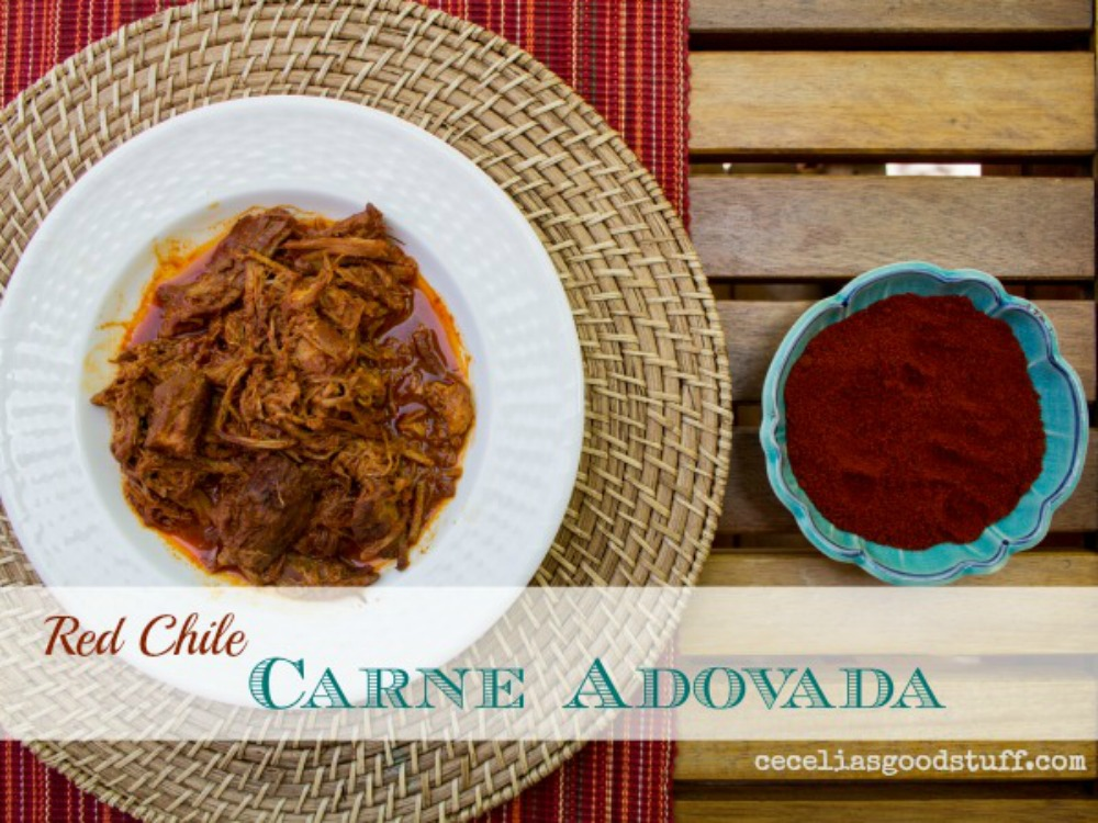 A New Mexico favorite Carne Adovada  | www.ceceliasgoodstuff.com