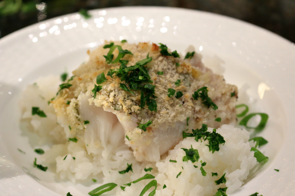 Easy Oven Baked Cod - Recipe with fresh lemon and herbs