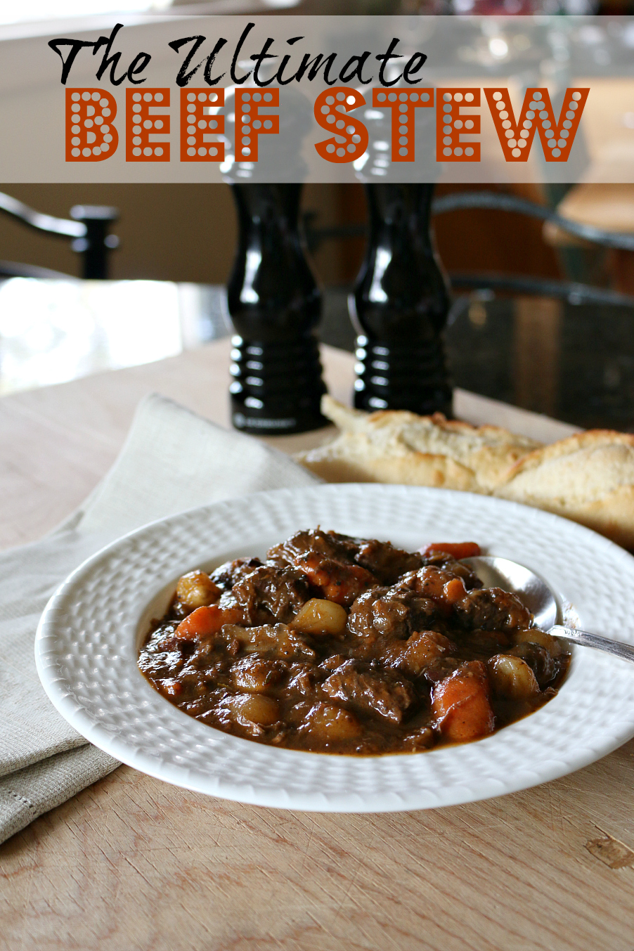 The Ultimate Beef Stew - Cast Iron Recipe