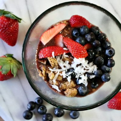 Acai Berry Breakfast Bowl