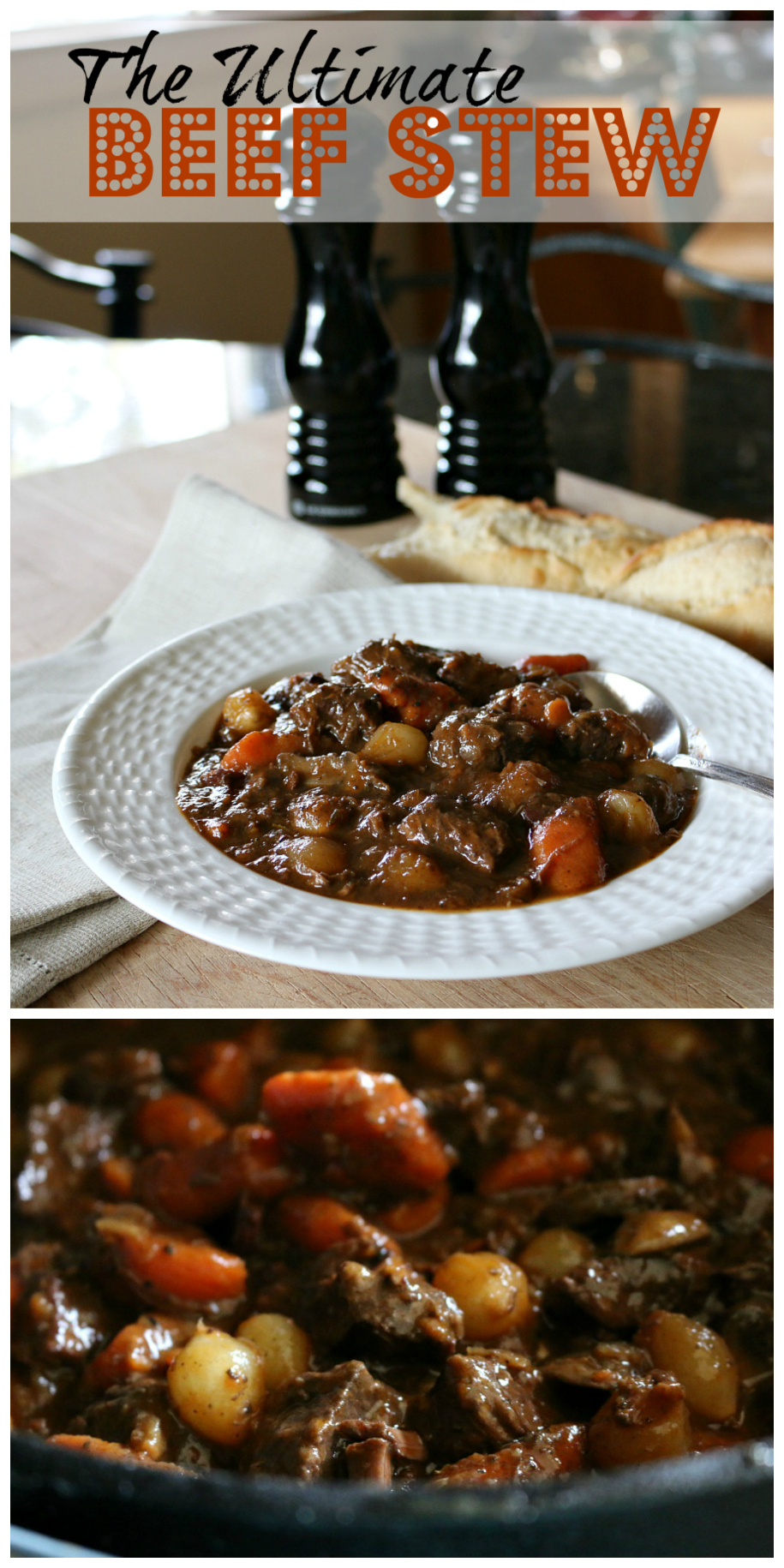 The Ultimate Beef Stew Recipe CeceliasGoodStuff.com | Good Food for Good People