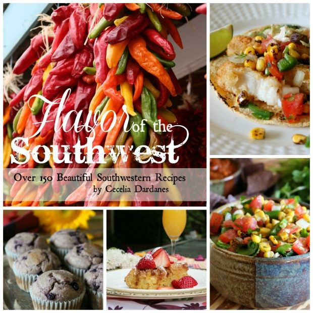 "Join me for FREE food samples from my new cookbook ""Flavor of the Southwest"" at Bookworks on April 29th from 3pm - 5pm"