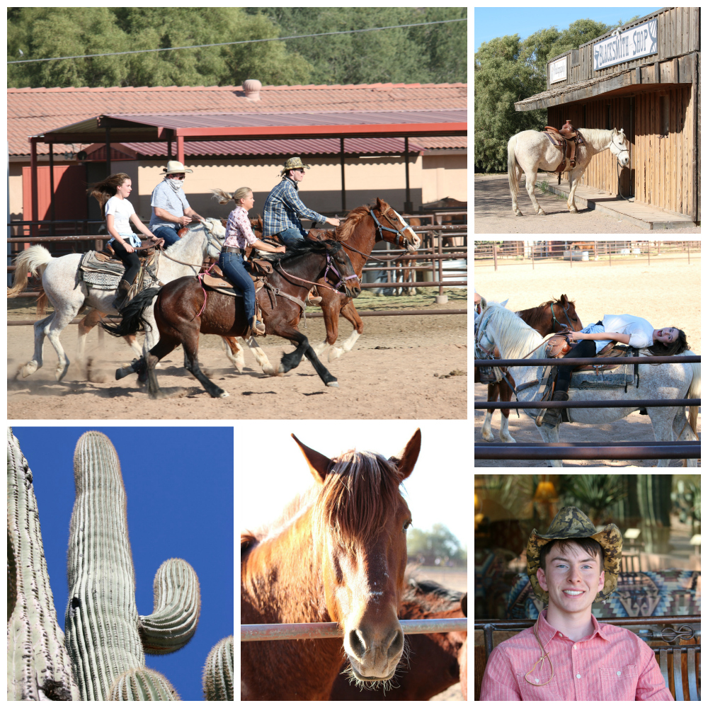 Family Time at the White Stallion Guest Ranch in Tucson, Arizona. I think everyone need to play cowboy and cowgirls at least once in your life.