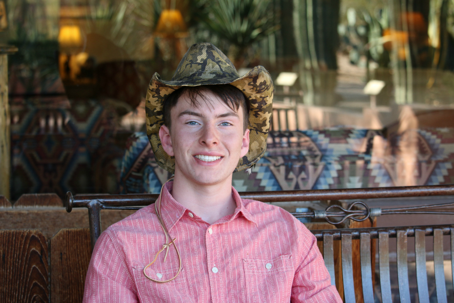 Nicholas my handsome cowboy . . . White Stallion Ranch, Tucson, Arizona USA - Spring Break 2017