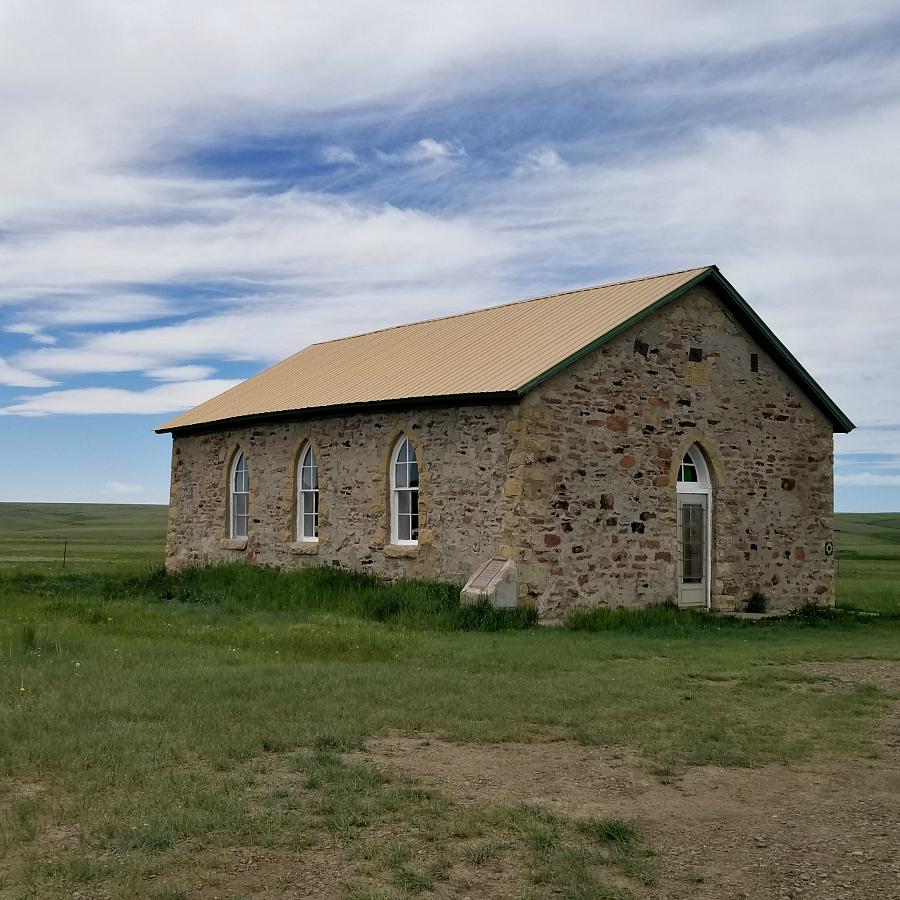 Johnson Mesa Church located in Yankee, New Mexico. CeceliasGoodStuff.com