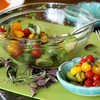 Fresh Herb Tomato Salad