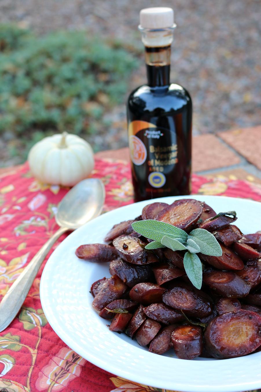 Braised Purple Carrots Recipe CeceliasGoodStuff.com   Good Food for Good People