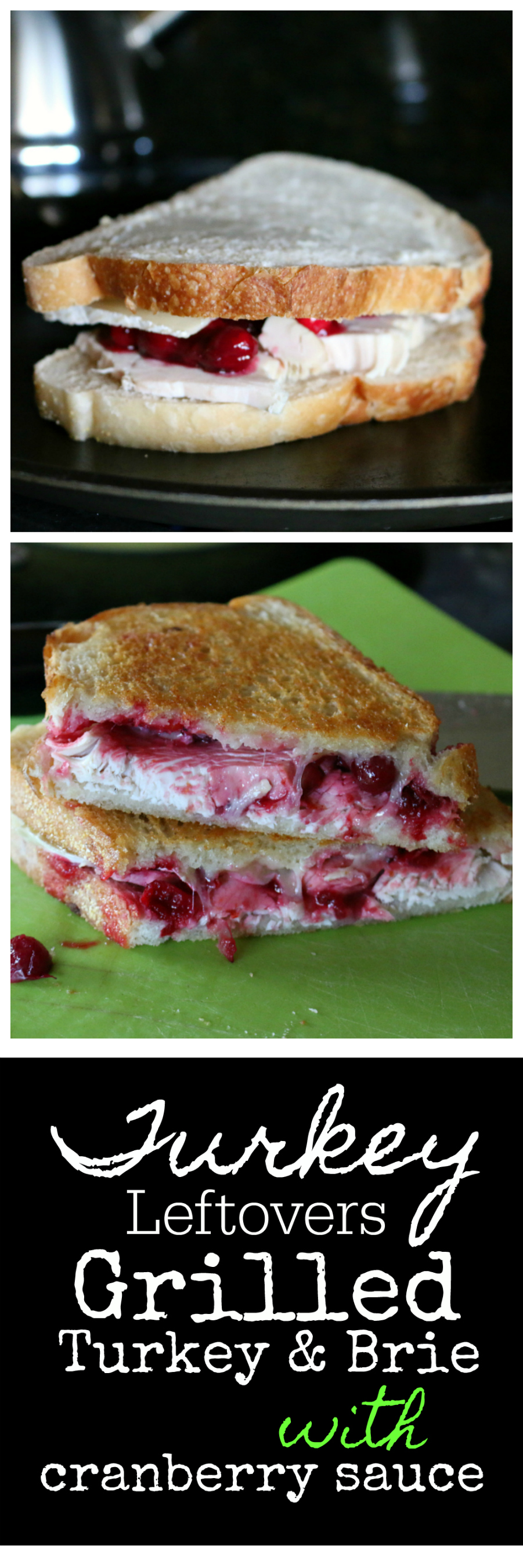 Grilled Turkey and Brie Sandwich with Cranberry Sauce Recipe