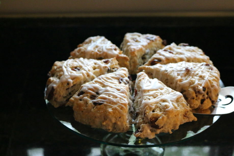 Papaya and Coconut Scones Recipe CeceliasGoodStuff.com Good Food for Good People