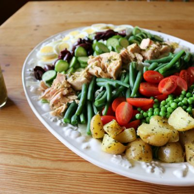 Salad Nicoise with Lemon Caper Dressing