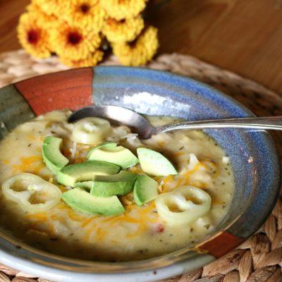 Southwestern Creamy Potato Soup