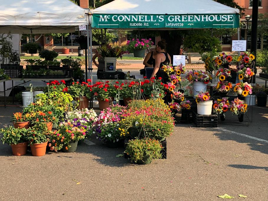 Boulder Farmers Market in Boulder, Colorado. CeceliasGoodStuff.com