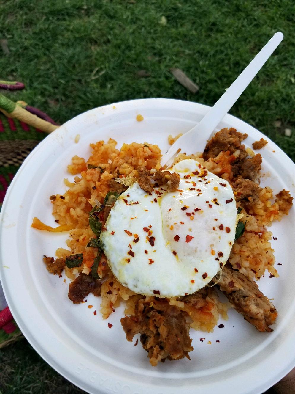 Breakfast Paella Boulder Farmers Market