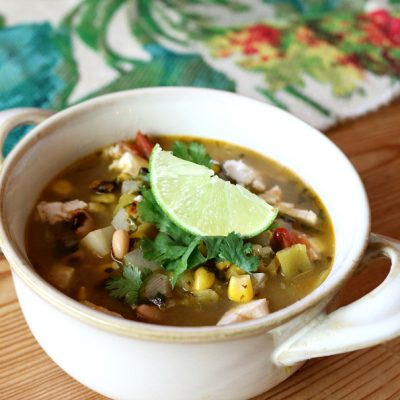 Fall Harvest Green Chile Soup