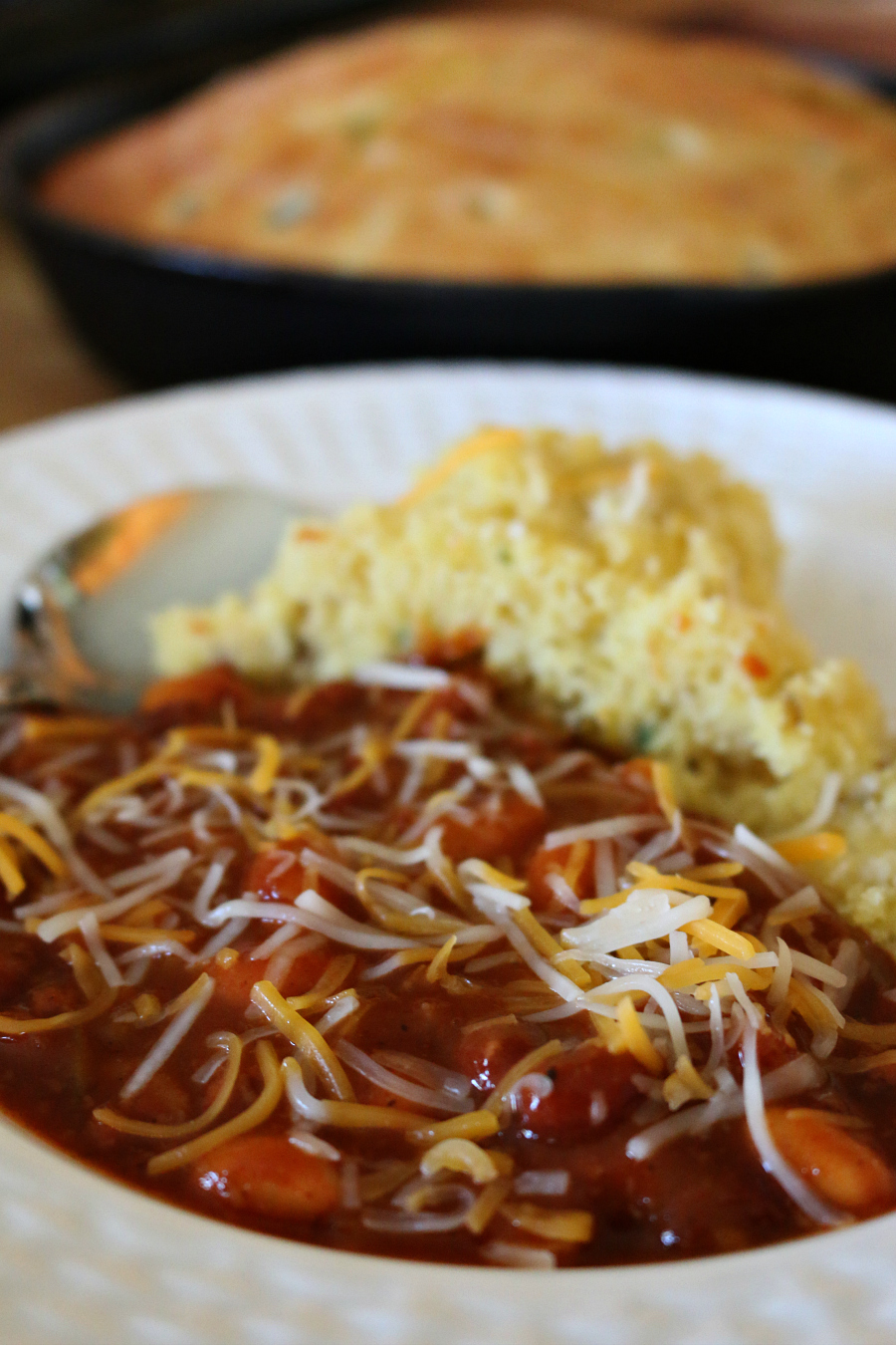 A Southwestern Turkey Chile and Cornbread CeceliasGoodStuff.com | Good Food for Good People