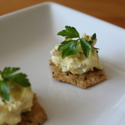 Three Easy Egg Salad Recipe Ideas