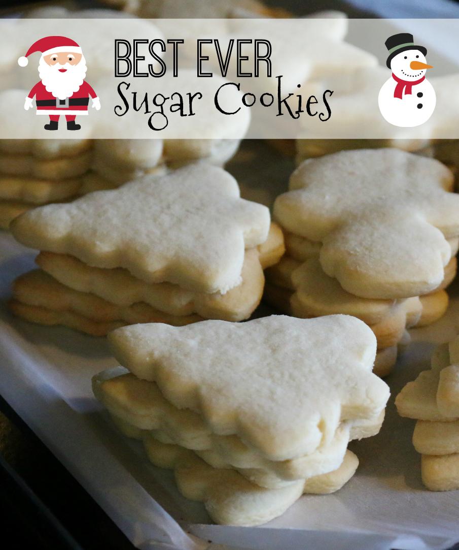 A Best Ever Sugar Cookie Recipe