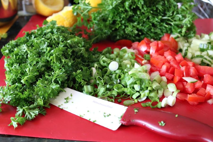Parsley the key ingredient in Tabbouleh Salad