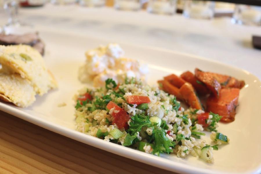 Traditional Lebanese Tabbouleh Salad IMG_8503