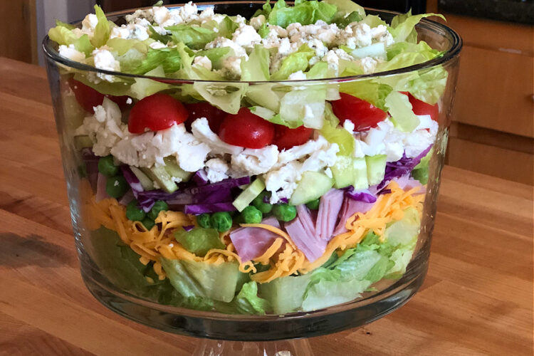 Layered Chef's Salad